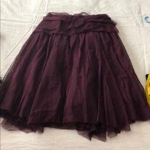 Purple Tule skirt